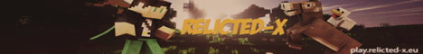Relicted-X - The ultimate Minecraft server